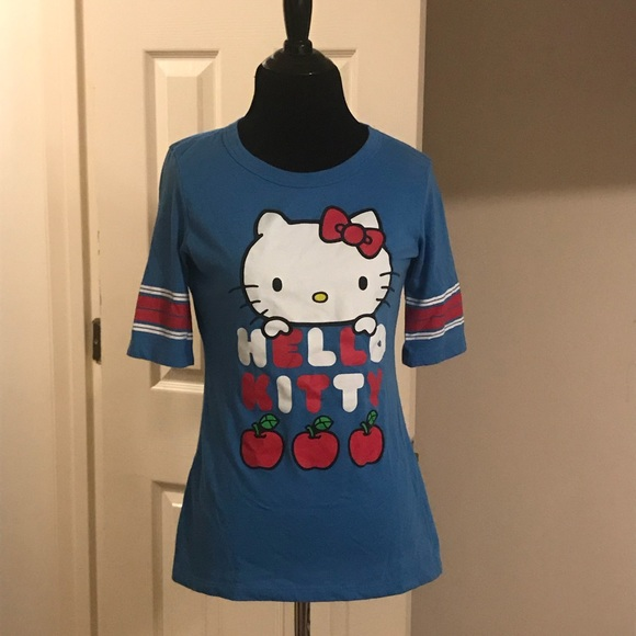0e0708b3c Sanrio Hello Kitty Jersey Tee Junior Size Large. M_5adb3cf72ae12f018d395de6